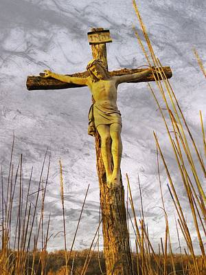 Photograph - Jesus Christ  by Chris Berry