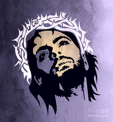 Jesus Christ Art Print by Mark Ashkenazi