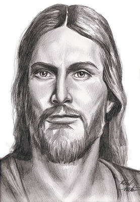 Jesus Christ Print by Michael Mestas