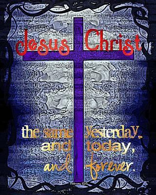 Edward Hopper - Jesus Christ by Michelle Greene Wheeler