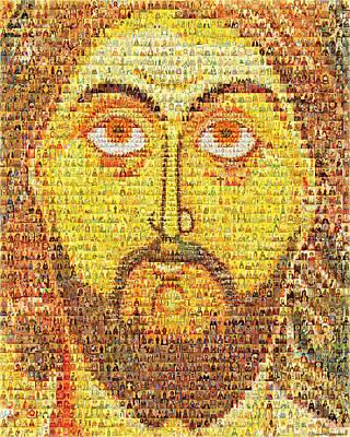 Jesus Christ Pantokrator  Original by Temur Lursmanashvili
