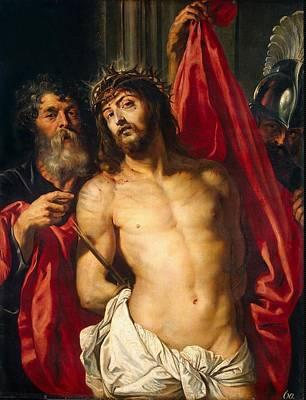 Religious Art Digital Art - Jesus Christ by Peter Paul Rubens