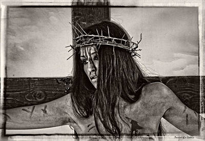Jesus Christ Portrait Art Print by Ramon Martinez