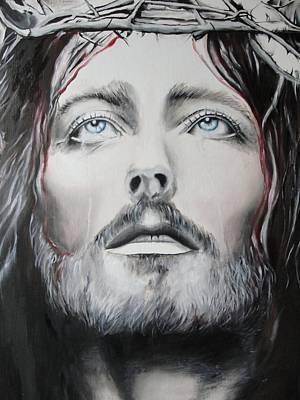 Painting - Jesus Christ by Sergey Selivanov