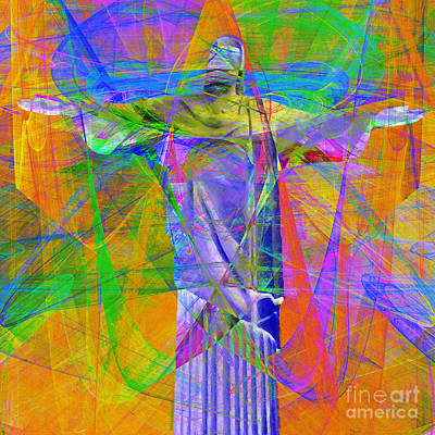 John 3 16 Photograph - Jesus Christ Superstar 20130617 Square by Wingsdomain Art and Photography