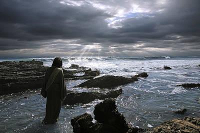 Jesus Christ- The Heavens Declare The Glory Of God Art Print