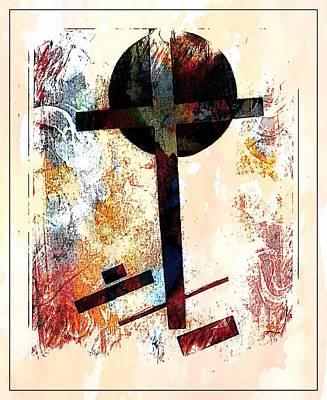 Art Print featuring the photograph Jesus Christ_savior Of The World by Allen Beilschmidt