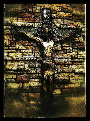 Photograph - Jesus Coming Into View by Al Harden