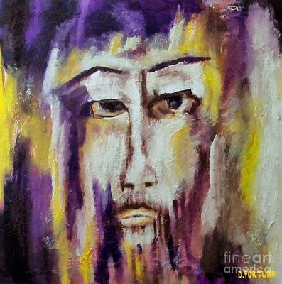 Jesus Art Print by Dragica  Micki Fortuna