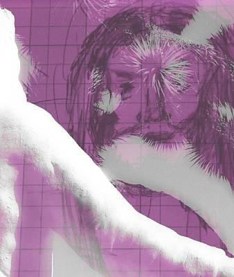 Jesus Entering Space Time Art Print by Carolina Liechtenstein