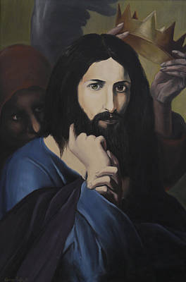 Painting - Jesus by George Tuffy