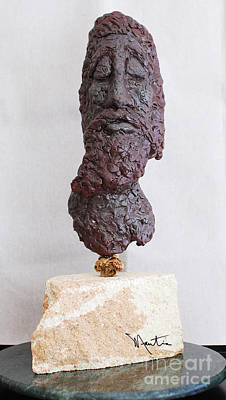 Sculpture - Jesus Is Alright By Me by Art Mantia