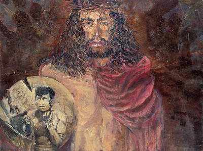 Painting - Jesus Is Comdemed by Patricia Trudeau