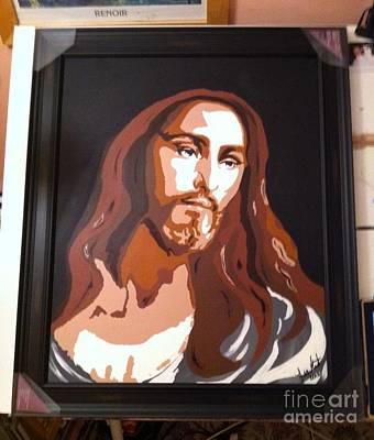 Jesus Is Here Art Print