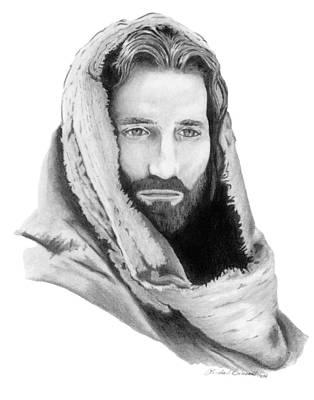 Jesus Art Print by Linda Bissett