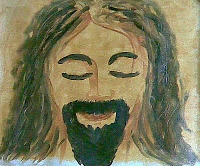 Jesus Lord And Saviour Oil On Canvas Paintings Original by Newman Mendes