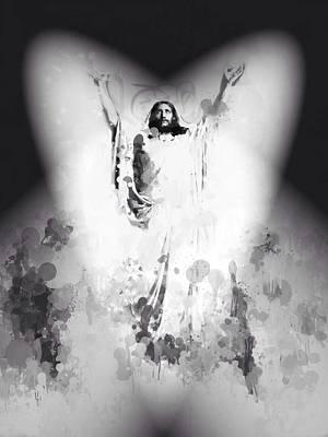 Jesus Loves You Art Print by Steve K