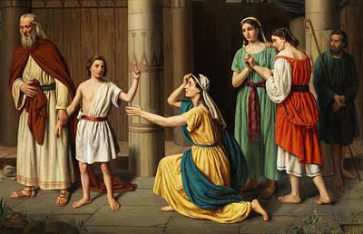 Redeemer Painting - Jesus by Luigi Riva