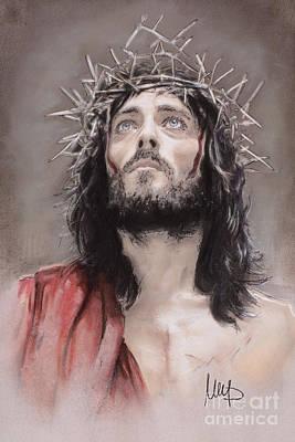 Powell Drawing - Jesus  by Melanie D