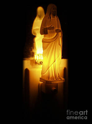 Photograph - Jesus Nighlight by Gregory Dyer
