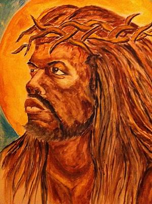 Jesus Of Color Art Print by Clyde Taylor
