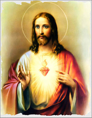 Saviour Digital Art - Jesus Our Lord And Saviour by Bill Cannon