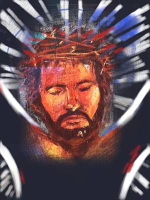 Jesus Reflection Art Print