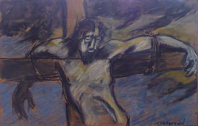 Painting - Jesus Remember Me by Todd  Peterson