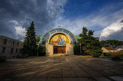 Jesus Photograph - Jesus Rocketship by Bryan Scott
