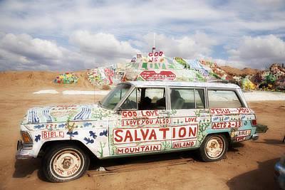 Jesus Wagon Original by Hugh Smith