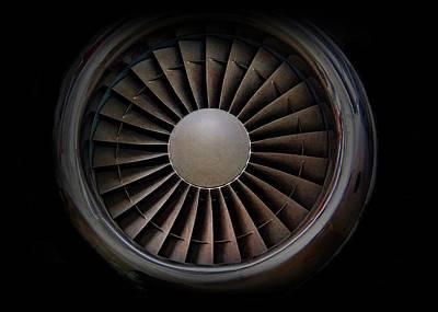 Jet Engine Digital Art Print Art Print by Movie Poster Prints
