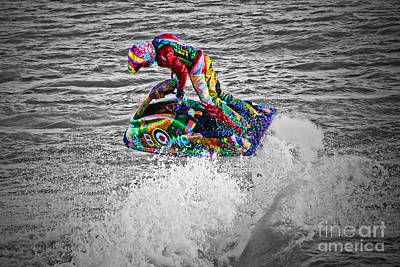 Photograph - Jet Ski by Terri Waters