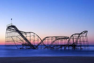 Jet Star Rollercoaster Photograph - Jet Star Coaster by Rob Rauchwerger