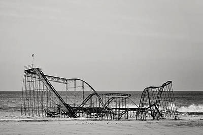 Seaside Heights Photograph - Jet Star  by Terry DeLuco