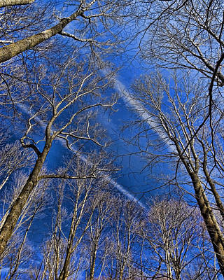 Photograph - Jet Trails by Robert Culver
