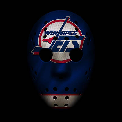 Jets Photograph - Jets Jersey Mask by Joe Hamilton