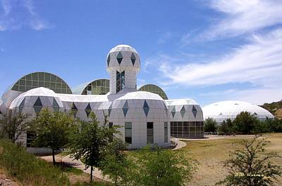 Photograph - Jetsons Meet Biosphere by R B Harper