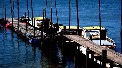 Wodden Jetty Plank. IIi Original by Ali Mohamad