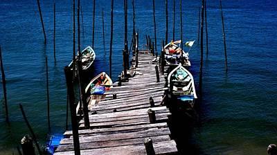 Wodden Jetty Plank. II Original by Ali Mohamad