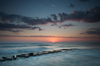 Atwater Photograph - Jetty And The Sun by Josh Eral