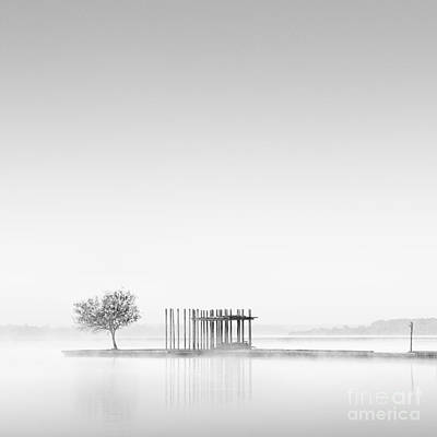 Wall Art - Photograph - Jetty At Dawn by Maggy Morrissey