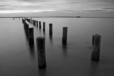 Photograph - Jetty At Sunset by Stefan Mazzola