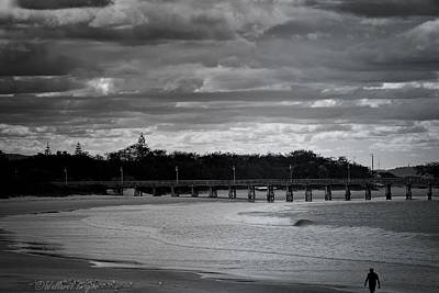 Photograph - Jetty Beach by Wallaroo Images