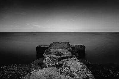 Jetty Art Print by CJ Schmit