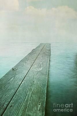 Solitude Photograph - Jetty by Priska Wettstein