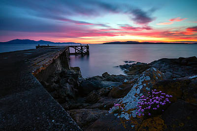 Photograph - Jetty Sunset 2 by Fiona Messenger