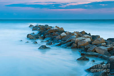 Photograph - Jetty Sunset by Dale Powell