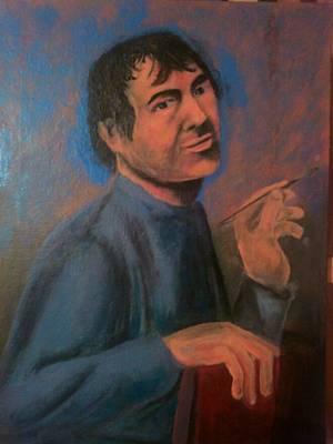 Painting - Jevandjelist Luka by Lazar Caran