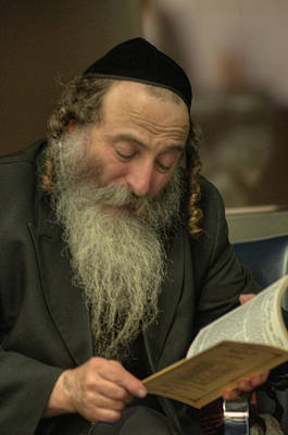 Photograph - Jew At Prayer by Don Wolf