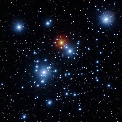 Jewel Box Star Cluster Art Print by Y. Beletsky/european Southern Observatory